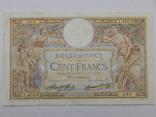 Бона 100 франков, 1933 г Франция, фото №2