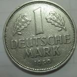 ФРГ  1 марка 1950 года.F., фото №3