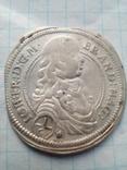 1/6 Талера 1676 Герцога  Брандербург- Ансбах, фото №2
