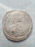 1/6 Талера 1676 Герцога  Брандербург- Ансбах, фото №3
