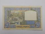 Бона 20 франков, 1941 г Франция, фото №3