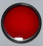 Красный фильтр К-8х 49х0,75, фото №2
