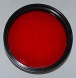 Красный фильтр К-8х 49х0,75, фото №3
