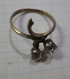 Кольцо позолота, фото №4