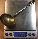 Серебряная глубокая ложечка 875 пробы, фото №7