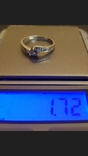 Золотое кольцо  с бриллиантами  и Танзанитом., фото №5