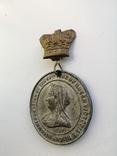 Англия, 60 лет правления Виктории. Самая редкая. The diamond jubilee 1897, фото №7