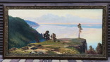 """Большая Картина """" Утес """". Холст, Масло., фото №4"""