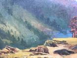 """Большая Картина """" Утес """". Холст, Масло., фото №12"""