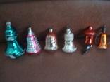 Ёл.игрушки СССР,стекло,колокольчики, фото №2