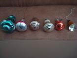 Ёл.игрушки СССР,стекло,колокольчики, фото №5