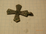 Крест скандинавского типа серебро копия, фото №3