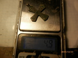 Крест скандинавского типа серебро копия, фото №5