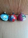 3 стареньких шарика.Один - новый., фото №2