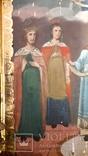 Икона Покрова Пресвятой Богородицы 46 на 53, фото №3
