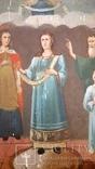 Икона Покрова Пресвятой Богородицы 46 на 53, фото №4