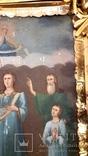 Икона Покрова Пресвятой Богородицы 46 на 53, фото №8