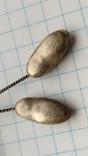 Брошь заколка серебро 875пр. Карпаты, фото №8