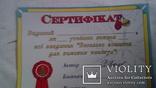 Сертификат, фото №2