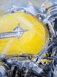 Картина «Harley-Davidson». Художник Ellen ORRO. холст/акрил. 40х50, 2019 г., фото №10