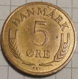 Дания 5 оре 1969, фото №2