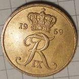 Дания 5 оре 1969, фото №3