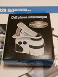 Микроскоп для смартфона Mpk10-Cl60x с клипсой зажимом и usb зарядкой, фото №2