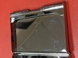 Винтажная коробочка с прозрачными кристаллами и зеркальцем внутри с Англии, фото №11