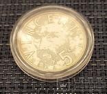 5 евро Нидерланды, 2003год, серебро, фото №6