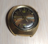Часы СЛАВА косая асимметричная автомат AU 10, фото №6