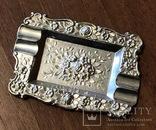 Набор пепельниц серебро 915 Испания, фото №5