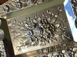 Набор пепельниц серебро 915 Испания, фото №6