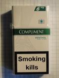 Сигареты COMPLIMENT MENTHOL