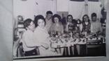 За столом на коммунальной кухне  1976г, фото №2