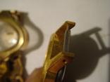 ЧАсы женские 5 шт. ау. позолота, фото №6