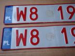 Два номера.  W8 1963 . Алюміній ( 345 грам ), фото №3