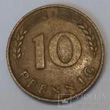 Німеччина 10 пфенігів, 1969