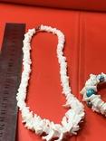 Винтажные бусы и браслет из камня, фото №9