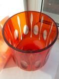 Ваза цветное стекло, фото №4