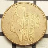 Нідерланди 5 гульденів, 1989 фото 2
