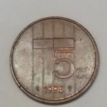 Нідерланди 5 центів, 1998