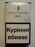 Сигареты PHILIP MORISS  BLUE фото 1