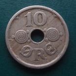 10  эре  1924   Дания   (Й.5.48)~, фото №2