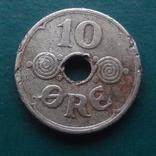 10  эре  1940   Дания   (Й.5.49)~, фото №2