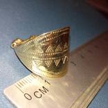 Реплика Копия Перстень Пластинчатый КР Скандинавия, фото №11