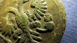 Денга 1735 в перьях, фото №6