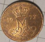 Дания 5 оре 1977, фото №3