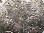Австрия 1 талер, 1780,серебро,Мария Терезия надпись IUSTITIA ET CLEMENTIА,С219, фото №6