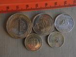 Набір монет Севернии Кіпр, фото №3