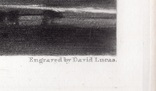 """Гравюра. Дж. Констебл - Лукас. """"Старый Сарум"""". До 1840 года. (35,3 на 25,8 см.). Оригинал. фото 6"""